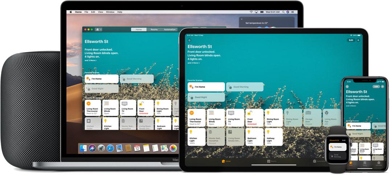 apple homekit 系統整合